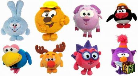Мягкие игрушки - Смешарики