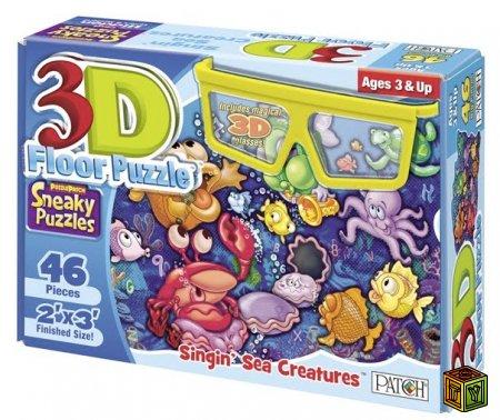 3D стерео головоломка