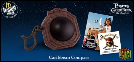 Пираты Карибского моря в Макдональд