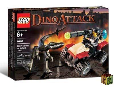 Динозавры атакуют или Lego vs. Dino