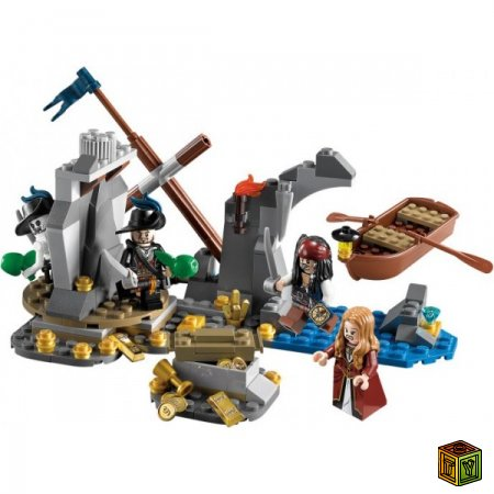Пираты Карибского моря из Lego