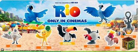 Rio игрушки сюрпризы
