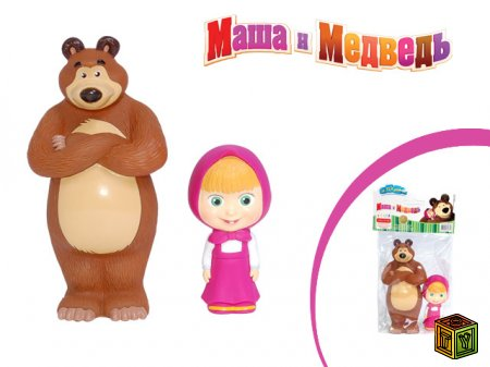 Маша и Медведь игрушки
