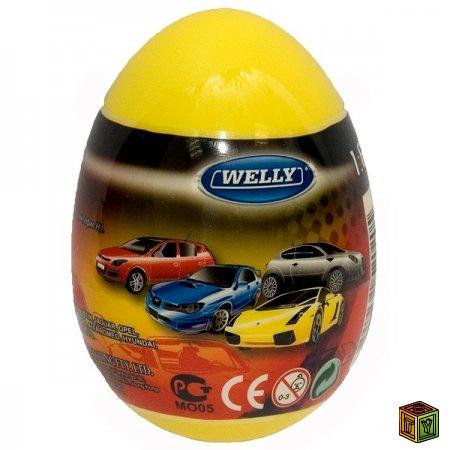 Яйца сюрпризы с машинками