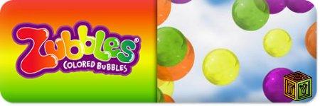 Цветные воздушные пузыри Zubbles