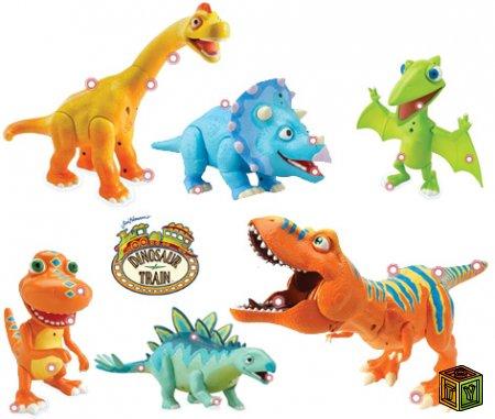 Игрушки Поезд Динозавров
