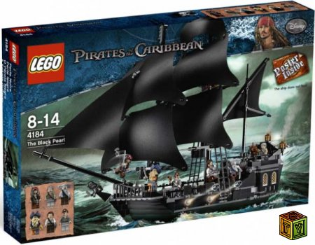 Lego Черная жемчужина (4184)