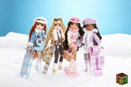 Куклы Мокси зимние приключения