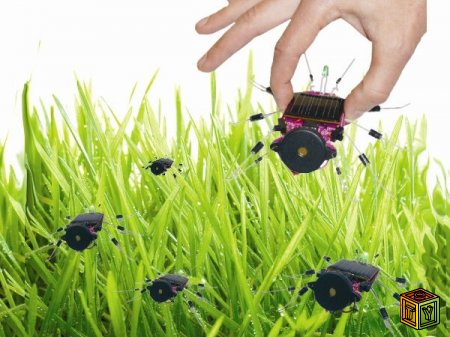 Солнечные Hexbug Nano