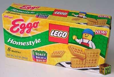 Lego Яйцо сюрприз (Lego Eggo)