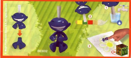 Mixart Kinder-Surprise (DC029-DC032)