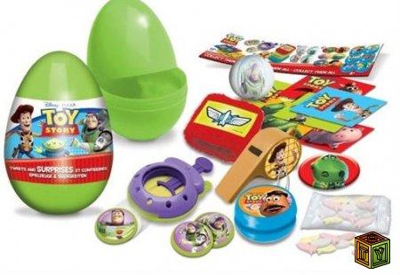 Шоколадные яйца Toy Story