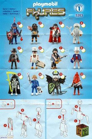 Playmobil Minifigures (Fi?Ures)