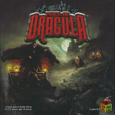 Настольная игра Ярость Дракулы