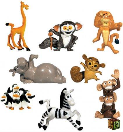 Игрушки Мадагаскар 3