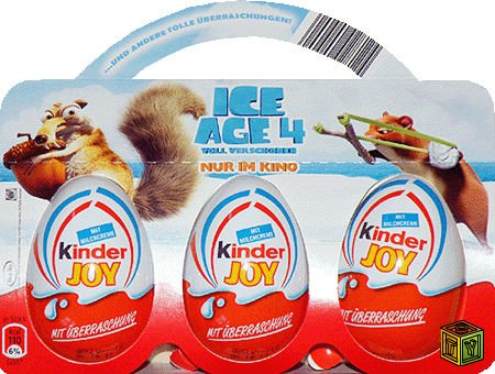 Kinder-Surprise Ice Age 4