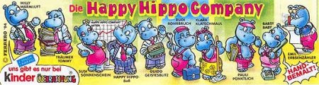 Happy Hippo в офисе (1994)