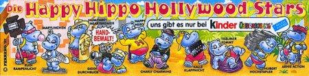 Happy Hippo Голливудские звёзды