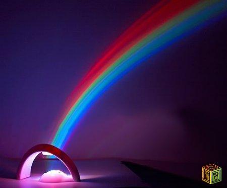 Веселая радуга в квартире