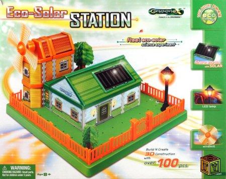 Мини Эко-солнечная станция