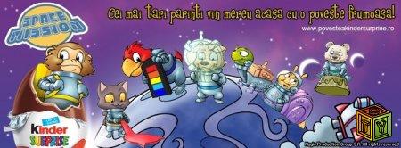 Космическая миссия Kinder-Surprise
