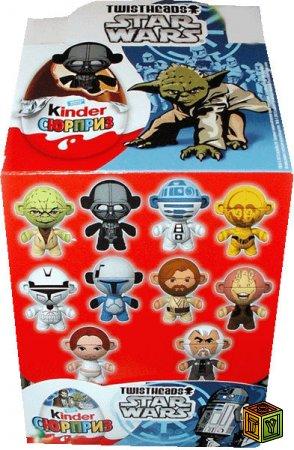Ещё раз Star Wars в Kinder Surprise