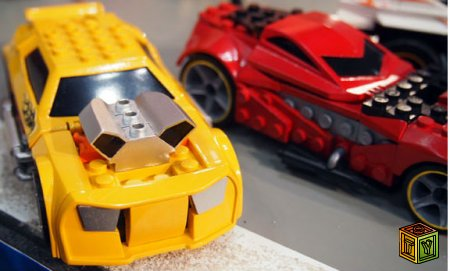 Mega Bloks и Hot Wheels