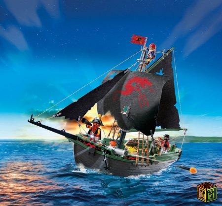 Управляемый пиратский корабль от Pl