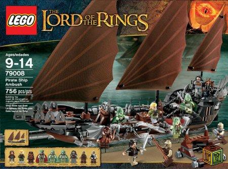 Новые наборы Lego The Lord Of The R4000ings