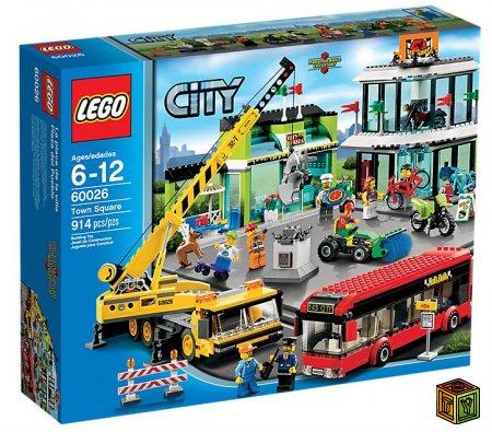 Новые наборы LEGO City