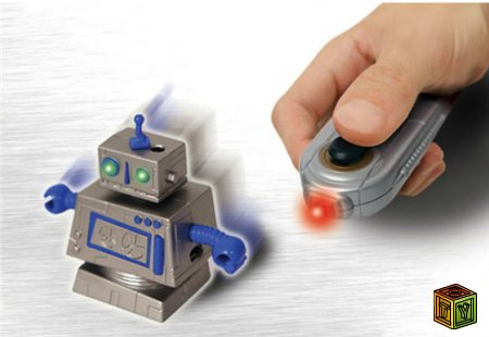 Мини роботы Zibits на радиоуправлении