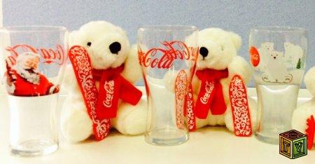 Игрушечные медведи Coca-Cola 2013