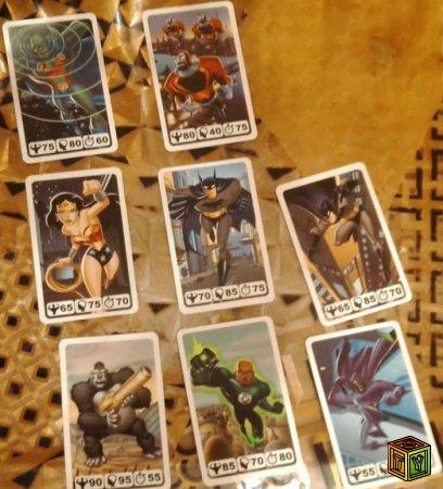 Карточки Nesquik Лига Справедливост