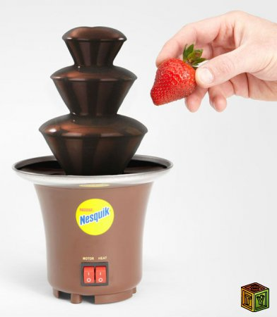 Шоколадный фонтан Nesquik