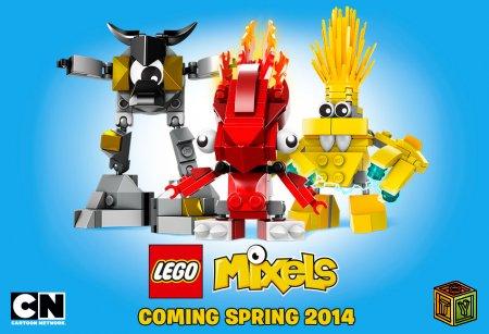 Новые наборы LEGO Mixels