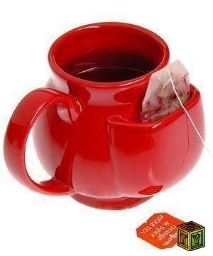 Кружка с кармашком для чайного пакетика